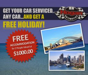 Hogan Automotive Holiday Voucher